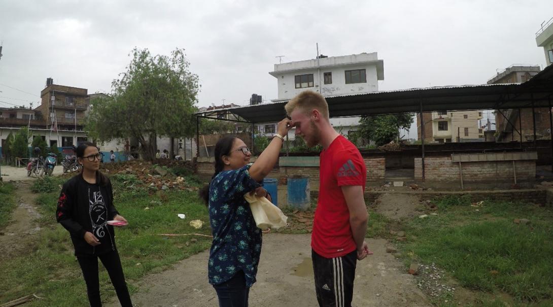 Callum B in Nepal